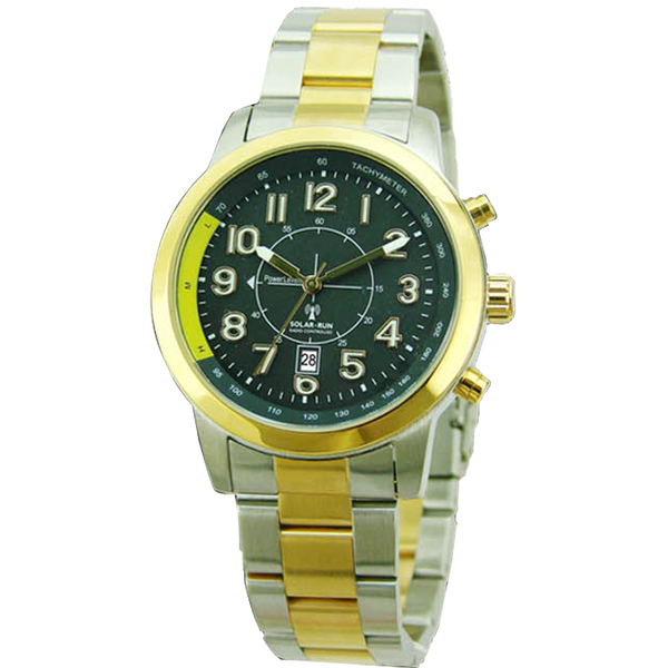 Aviator Solar Radio Controlled Watch IIII