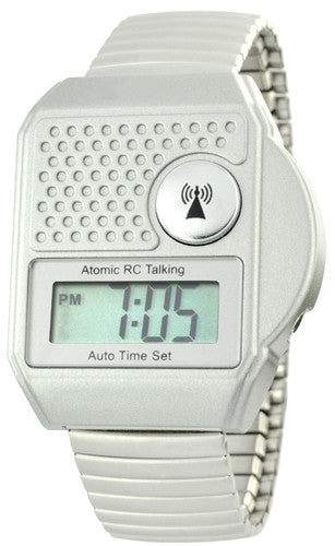 ATOMIC BIG BUTTON TALKING WATCH