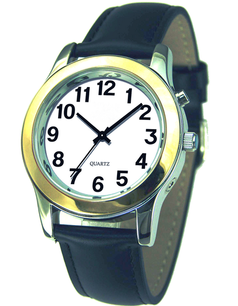 Men talking watch