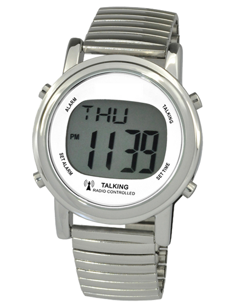 ATOMIC DIGITAL TALKING WATCH