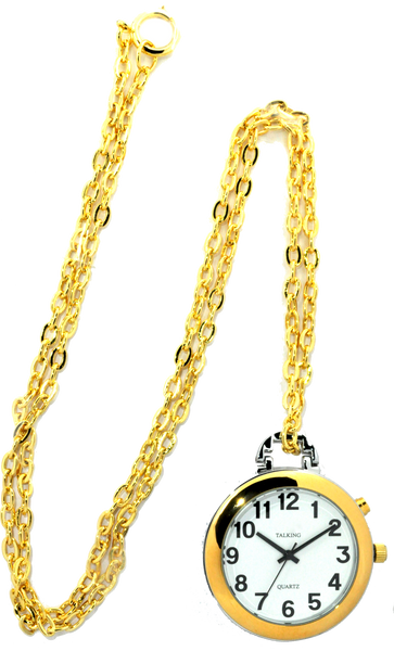 Pendant talking Watch