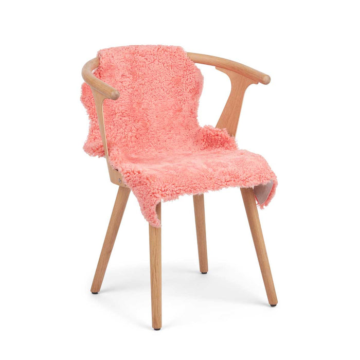 NC Living CORAL COLLECTION Sheepskin, Short-wool, Premium quality, New Zealand, 90 cm Skins Coral Peach