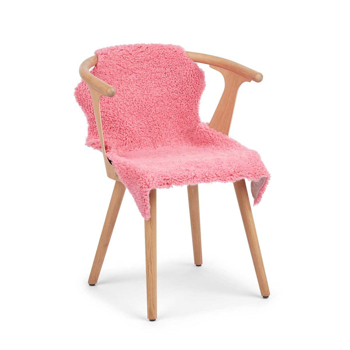NC Living CORAL COLLECTION Sheepskin, Short-wool, Premium quality, New Zealand, 90 cm Skins Coral Pink