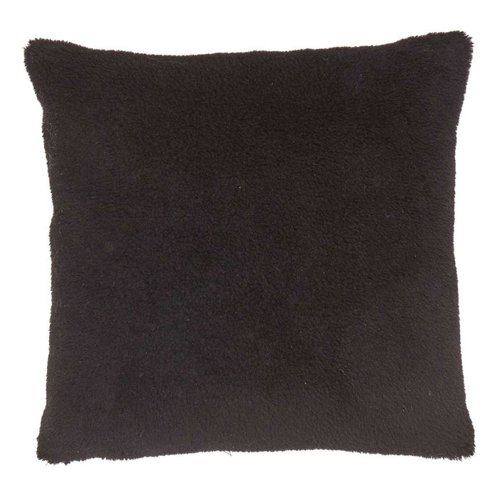 NC Living Cushion of 100% Wool-Fabric. size: 50X50 cm Cushions Black