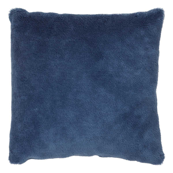 NC Living Cushion of 100% Wool-Fabric. size: 50X50 cm Cushions Blue