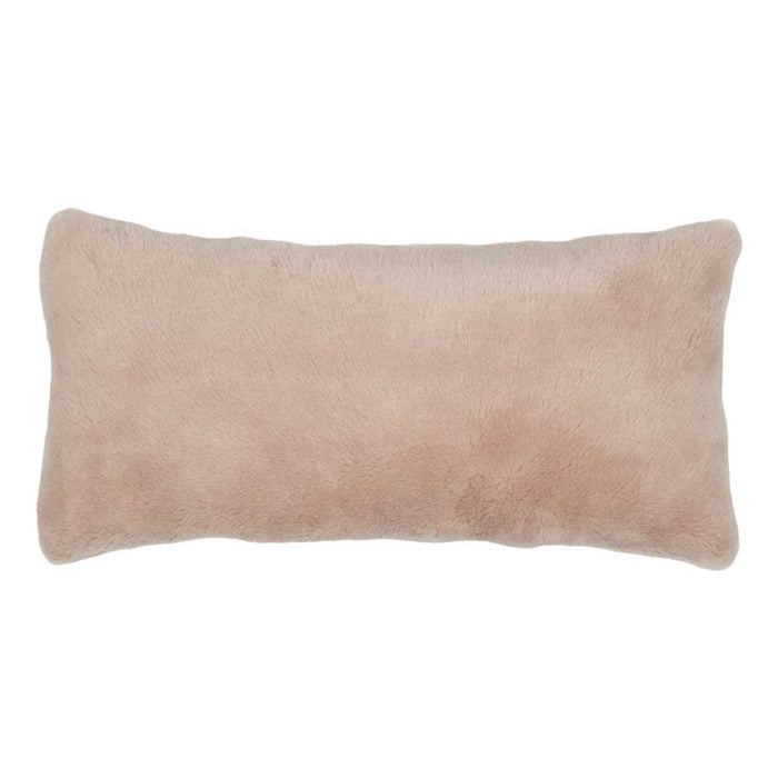 NC Living Cushion of 100% Wool-Fabric, size: 28x56cm Cushions Beige