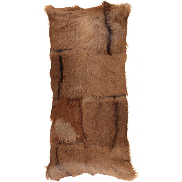 NC Living Goat Skin Cushion - shortwool | 28x56 cm. Cushions Spotted
