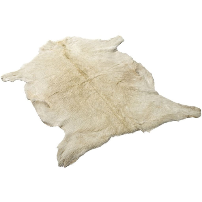 NC Living Goat hide | Shortwool | 90 cm. Skins Natural Light