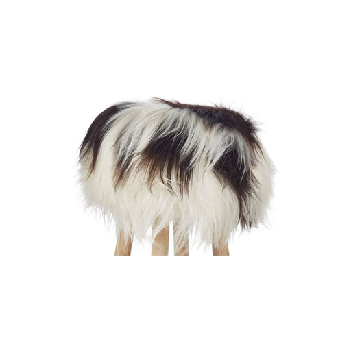 NC Living Icelandic Longwool Sheepskin | Stool Cover Stool Spotted