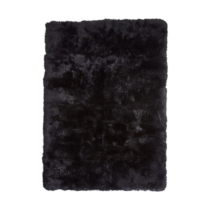 NC Living New Zealand Design Rug - LongWool | 170x240 cm. Design Rugs Black