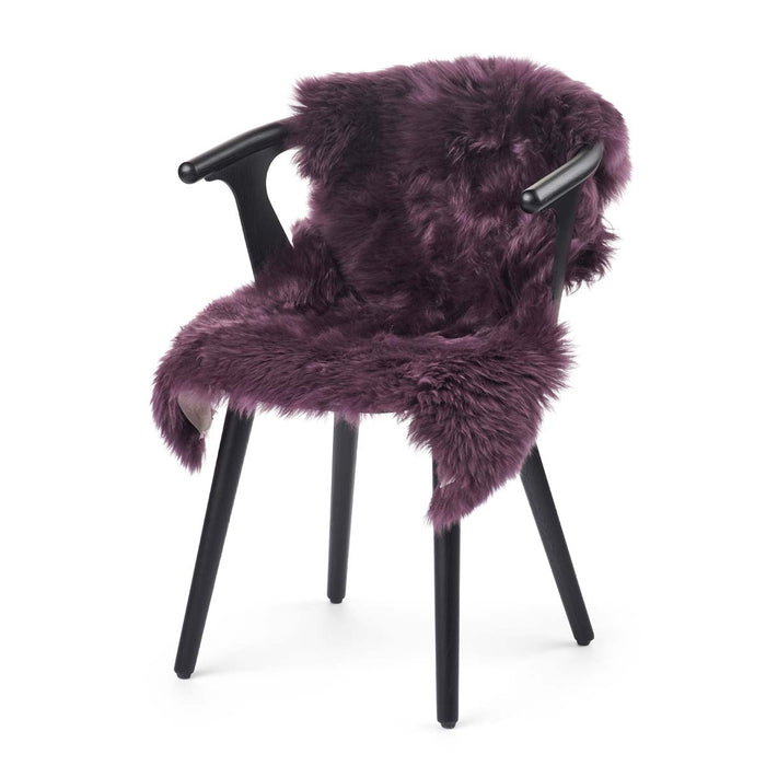 NC Living New Zealand Sheepskin - Longwool | 100 cm. Skins Aubergine