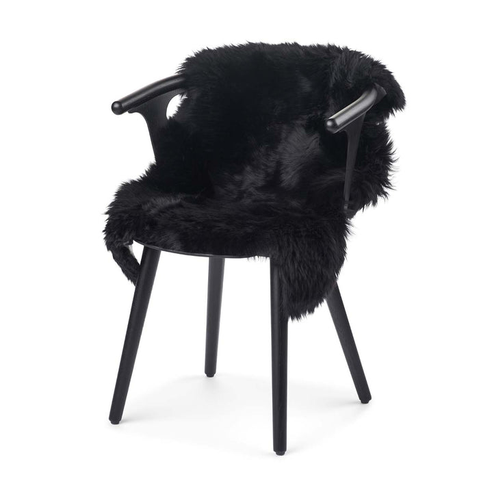 NC Living New Zealand Sheepskin - Longwool | 100 cm. Skins Black