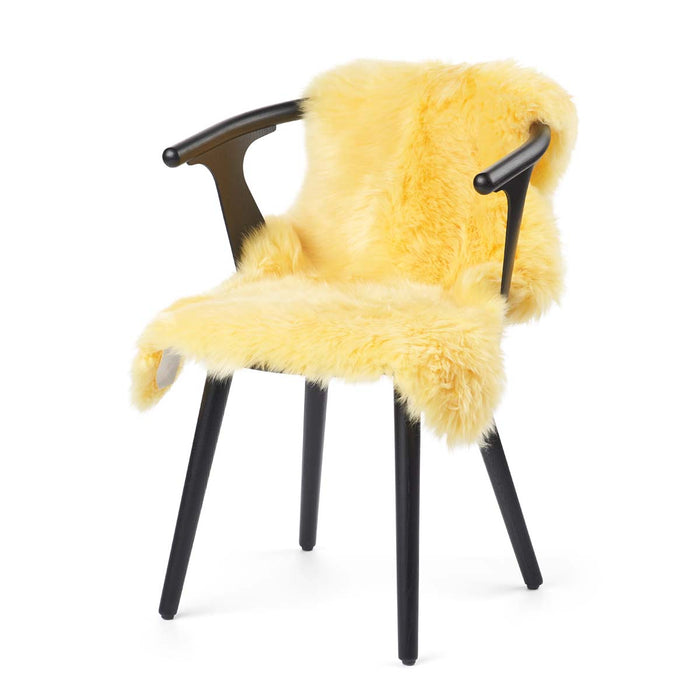 NC Living New Zealand Sheepskin - Longwool | 100 cm. Skins Lemon
