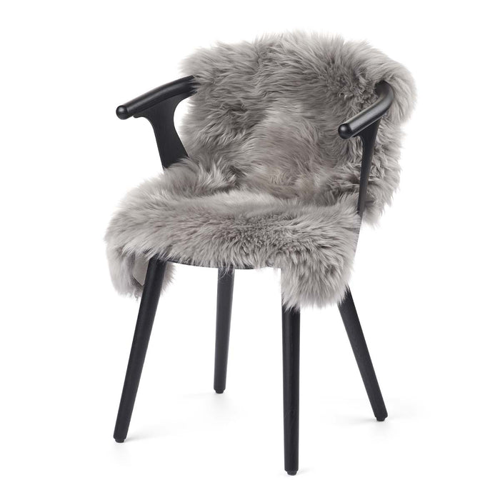 NC Living New Zealand Sheepskin - Longwool | 100 cm. Skins Light Grey