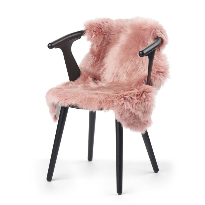 NC Living New Zealand Sheepskin - Longwool | 100 cm. Skins Rosa