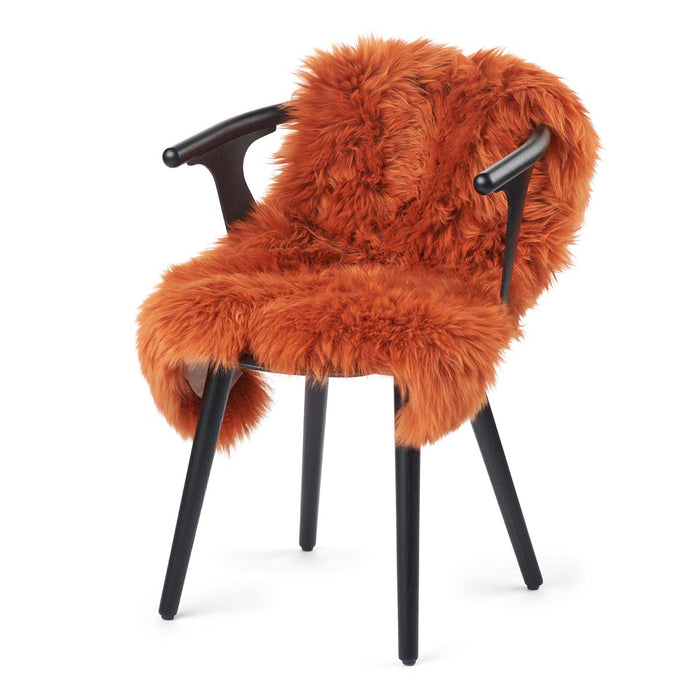 NC Living New Zealand Sheepskin - Longwool | 100 cm. Skins Rust