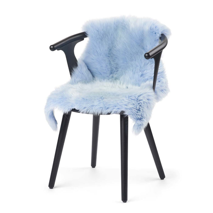 NC Living New Zealand Sheepskin - Longwool | 100 cm. Skins Summer sky