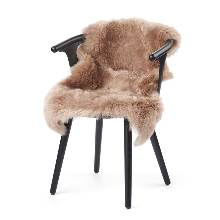 NC Living New Zealand Sheepskin - Longwool | 100 cm. Skins Warm Sand