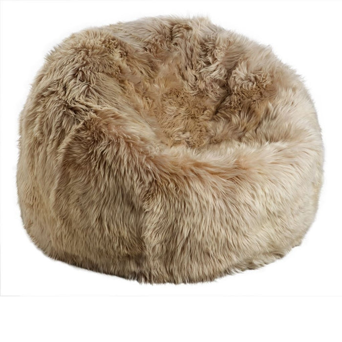 NC Living New Zealand Bean bag - LongWool | Size M Bean Bags Taupe