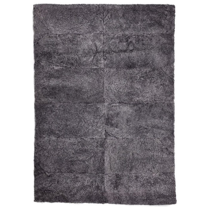 NC Living New Zealand Design Rug - ShortWool Curly | 120x180 cm. Design Rugs Anthracite