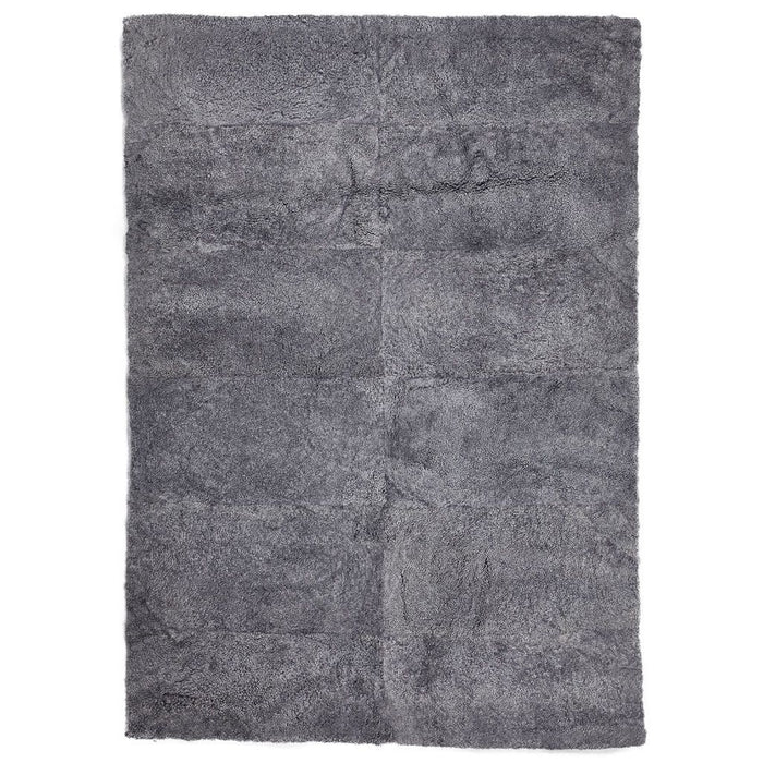 NC Living New Zealand Design Rug - ShortWool Curly | 170x240 cm. Design Rugs Light Grey