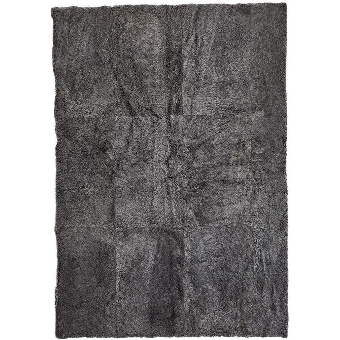 NC Living New Zealand Design Rug - ShortWool Curly | 200x300 cm. Design Rugs Graphite