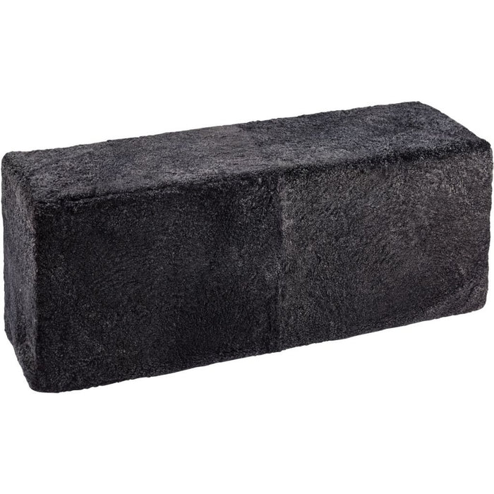 NC Living New Zealand Pouf-Bench - ShortWool Curly | 126x46x40 cm. Poufs Anthracite
