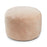 NC Living New Zealand, Round Pouf, 12mm Moccasin, Calf leather backing size: D55xH36 Poufs
