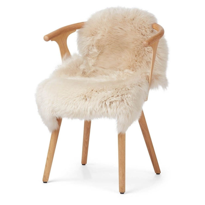 Warm&Comfy New Zealand Sheepskin - Longwool | 100 cm. Skins Linen