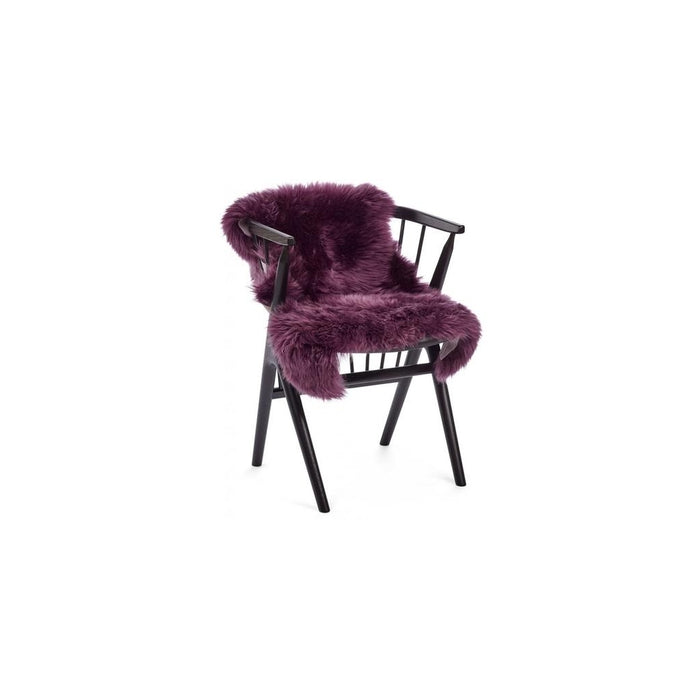 NC Living New Zealand Sheepskin - Longwool | 115 cm. Skins Aubergine