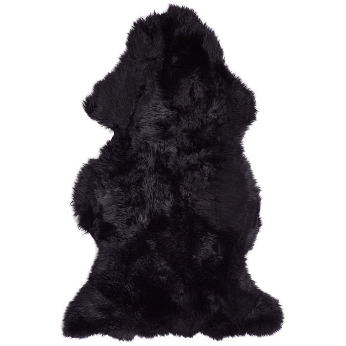 NC Living New Zealand Sheepskin - Longwool | 115 cm. Skins Black