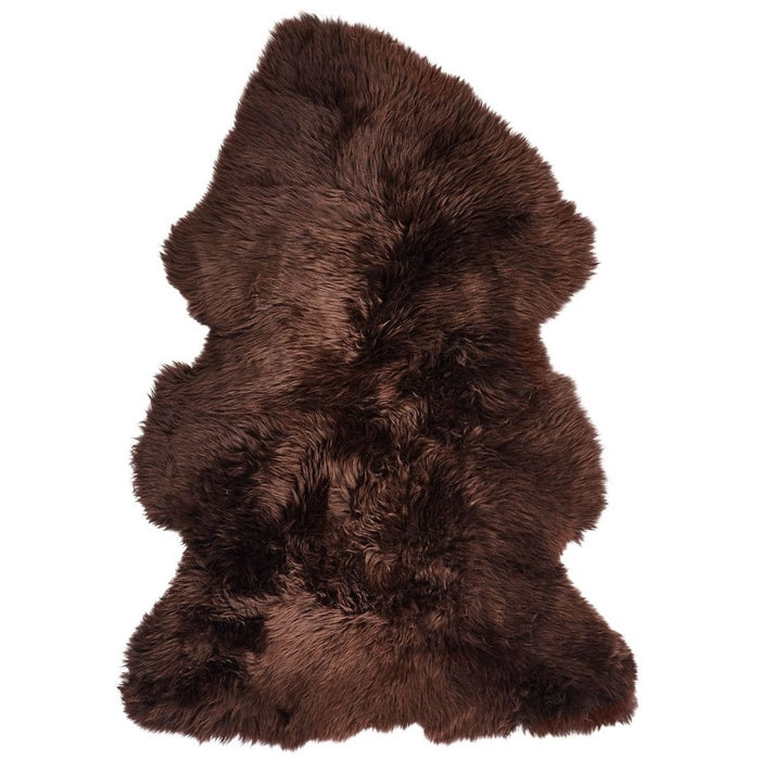 NC Living New Zealand Sheepskin - Longwool | 115 cm. Skins Chocolate