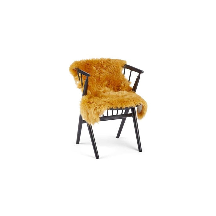 NC Living New Zealand Sheepskin - Longwool | 115 cm. Skins Imperial Yellow