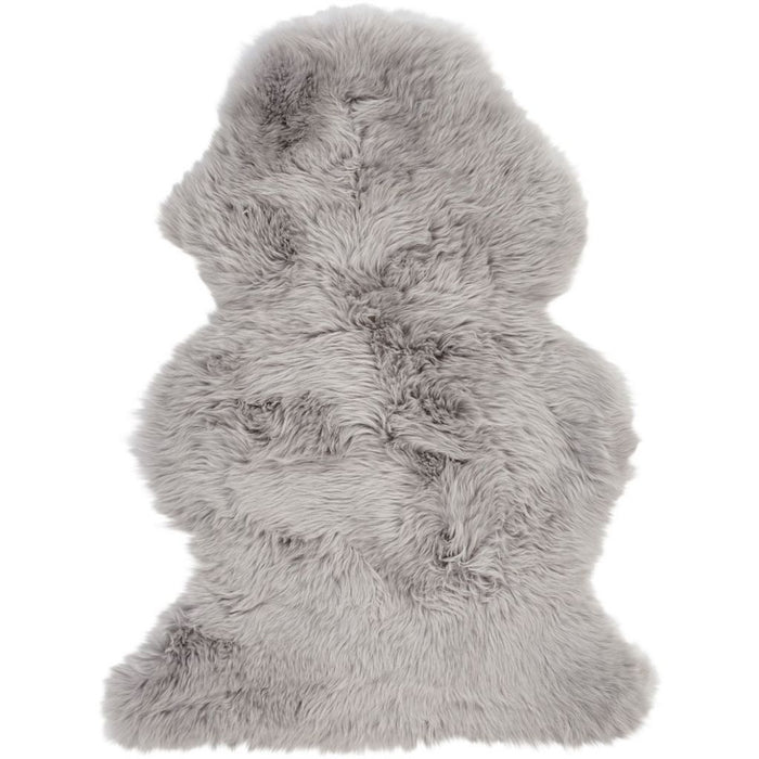NC Living New Zealand Sheepskin - Longwool | 115 cm. Skins Light Grey