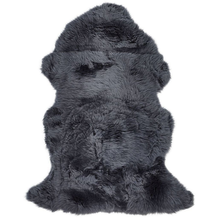 NC Living New Zealand Sheepskin - Longwool | 115 cm. Skins Navy