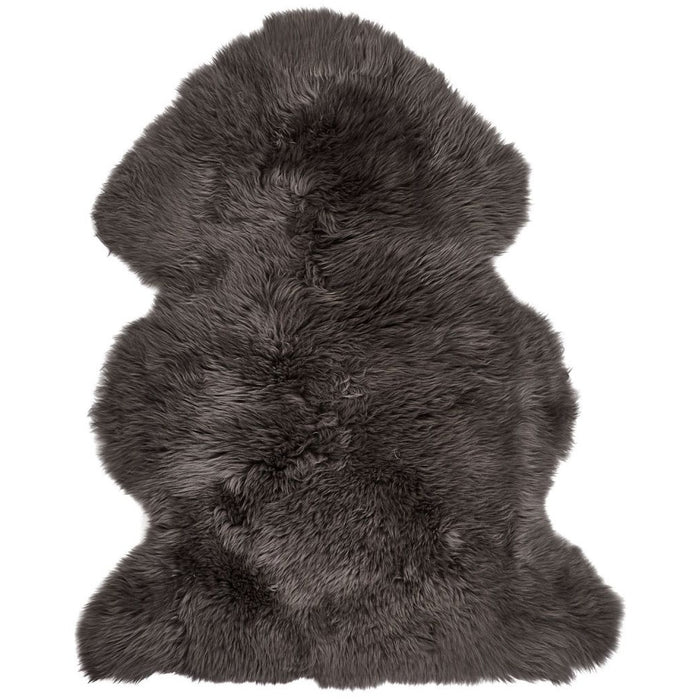 NC Living New Zealand Sheepskin - Longwool | 115 cm. Skins Steel