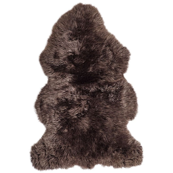 NC Living New Zealand Sheepskin - Longwool | 115 cm. Skins Walnut