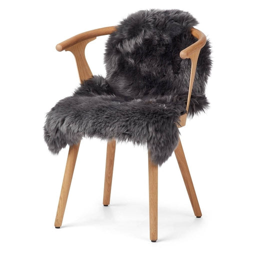 Warm&Comfy New Zealand Sheepskin - Longwool | 90 cm. Skins Steel