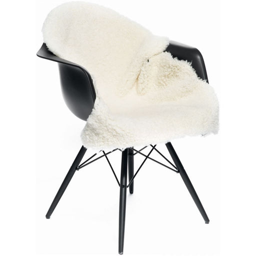 NC Living New Zealand Sheepskin - Shortwool Curly | 90 cm. Skins Ivory