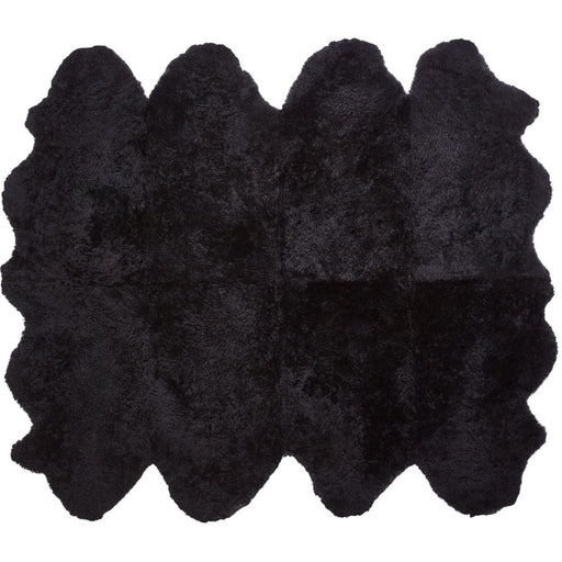 NC Living New Zealand Sheepskin - Shortwool curly | 180x214 cm. Skins Black