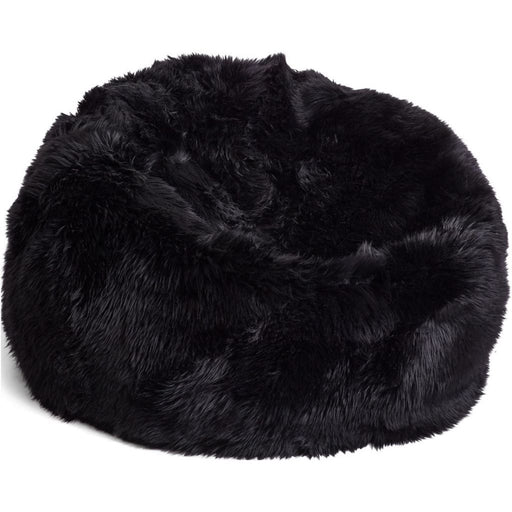 NC Living New Zealand bean bag - LongWool | Size L Bean Bags Black