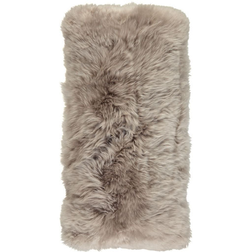 NC Living New Zealand sheepskin Cushion - LongWool | 28x56 cm. Cushions Dove