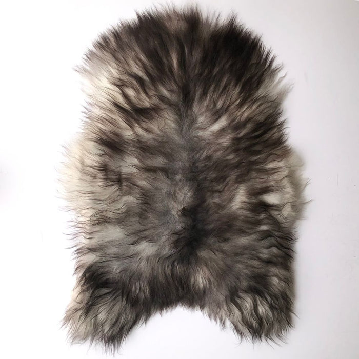 NC Unika Premium Sheepskin | Iceland | Natural grey | Unique Number 14838 | 107 x 84 cm Skins
