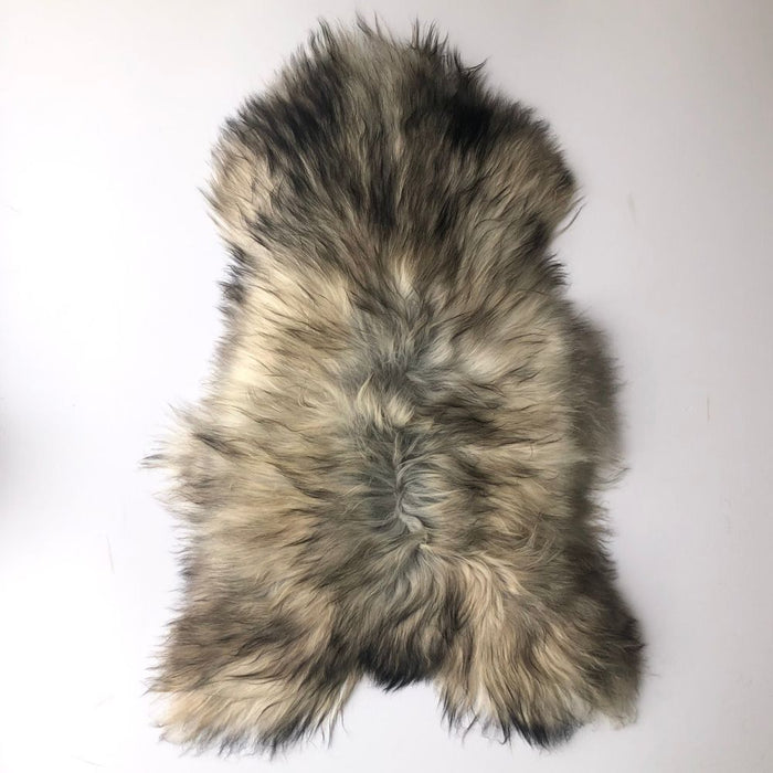 NC Unika Premium Sheepskin | Iceland | Natural grey | Unique Number 14880 | 116 x 78 cm Skins