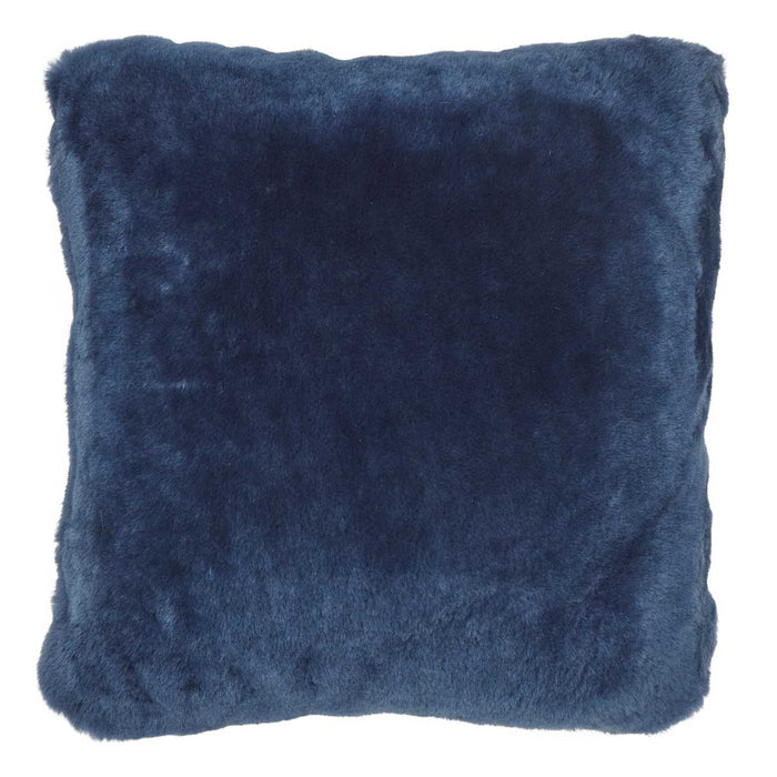 NC Living Premium Quality, New Zealand Cushion, 12mm Moccasin. Size: 40x40 cm Cushions Navy Blue