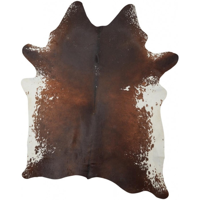 NC Cowhide UNIKA Cow Hide. Size: 4,52 m2. Color: Dark Brown/Reddish Hides