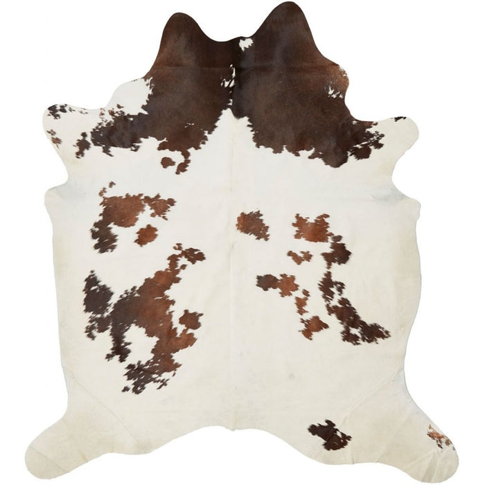 NC Cowhide UNIKA Cow Hide. Size: 3,25 m2. Color: Dark Brown/Reddish Hides Dark Brown/Reddish
