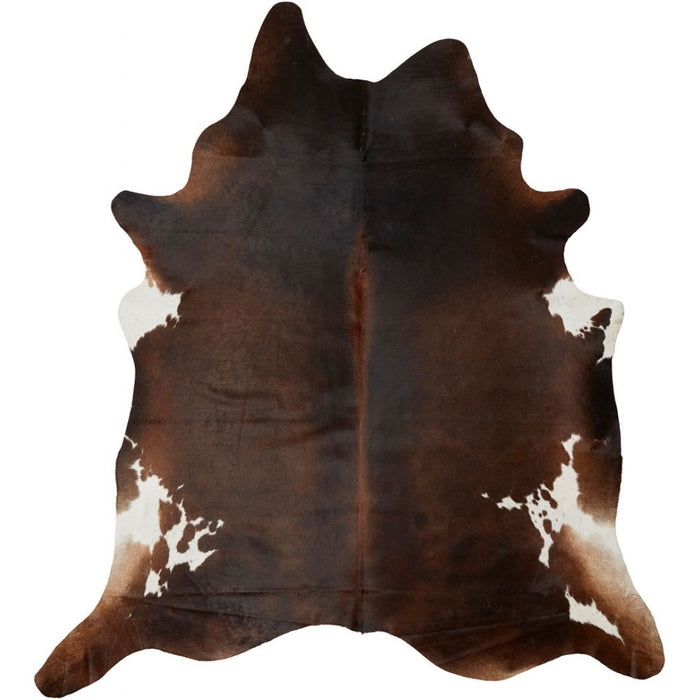NC Cowhide UNIKA Cow Hide. Size: 4,36 m2. Color: Dark Brow/Reddish Hides Dark Brown/Reddish