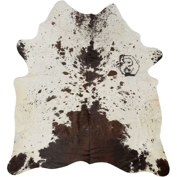 NC Cowhide UNIKA Cow Hide. Size: 3,19. Color: Dark Brown Reddish Hides Dark Brown/Reddish