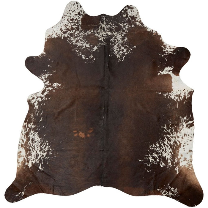 NC Cowhide UNIKA Cow Hide. Size: 2,88 m2. Color: Dark Brown Reddish Hides Dark Brown/Reddish